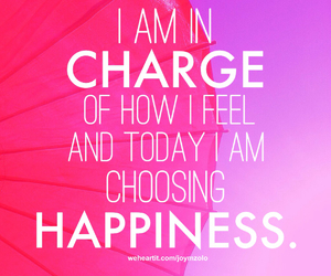 happiness, pink, and quote image