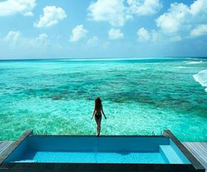 sea, girl, and summer image