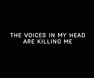 me, voice, and stop it image
