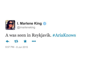 pretty little liars, pll theory, and aria is a image