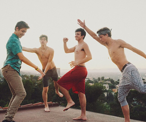 taylor caniff, nash grier, and aaron carpenter image