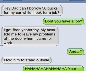 dad, funny, and hilarious image