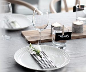 friends, luxury, and table image