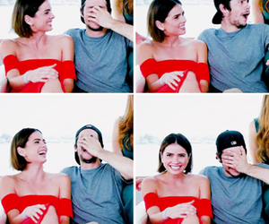 teen wolf, shelley hennig, and dylan obrien image