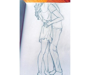 draw, drawing, and people image