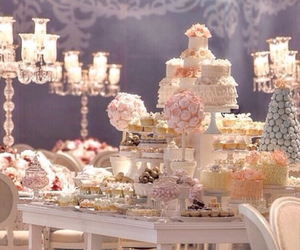 bouquet, bride, and decoration image
