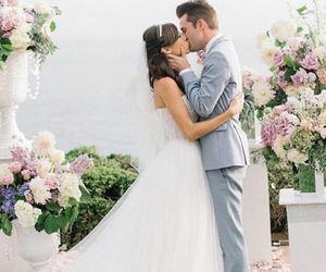 wedding, flowers, and joshua image