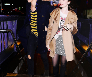 lily collins, hily, and Harry Styles image