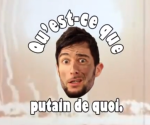 wtf, french youtuber, and youtuber image