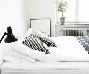 architecture, bedroom, and black image