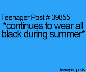 black, summer, and teenager post image