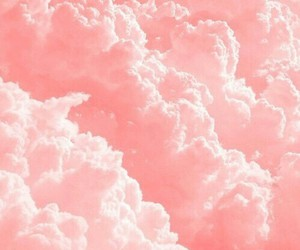 cloud, ☁, and pink image