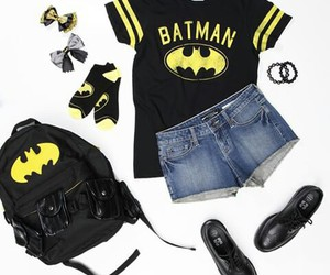 batman, hot topic, and outfit image
