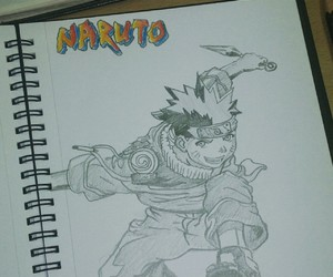 naruto, pencil, and speedsketch image