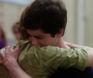 logan lerman, emma watson, and the perks of being a wallflower image