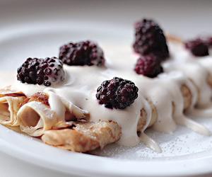 food, pancakes, and yummy image