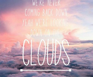 clouds, quotes, and landscape image