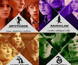 harry potter, gryffindor, and ravenclaw image