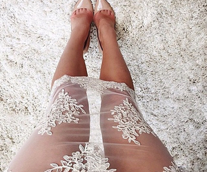 crochet, dress, and outfit image