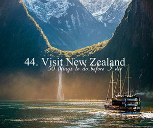 new zealand, travel, and vacation image