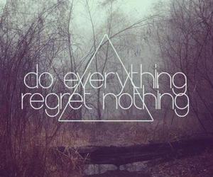 regret nothing image