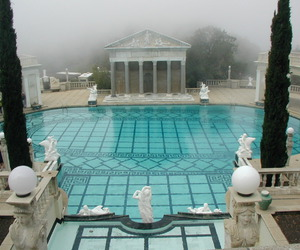 pool, art, and blue image