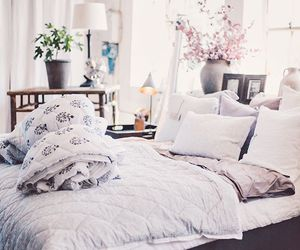 bedroom, love, and fashion image