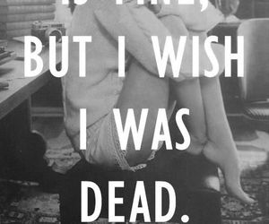 lana del rey, dead, and quote image