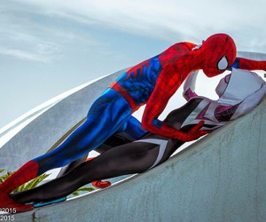 cosplay and spiderman image