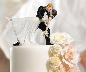 wedding, cake, and bride image