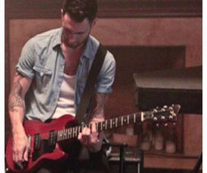 guitar, Hottie, and maroon 5 image