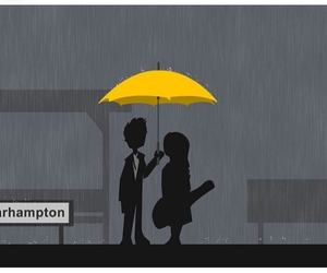 himym, how i met your mother, and yellow umbrella image