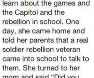 daughter, katniss, and hunger games image