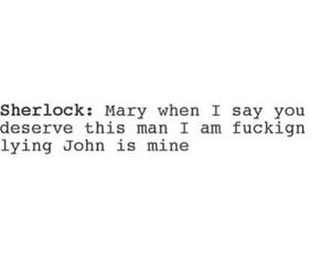 mary watson and johnlock image