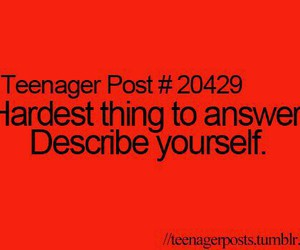 teenager post, hard, and funny image