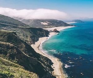 beach, explore, and mountains image