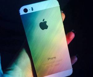 iphone, colorful, and rainbow image