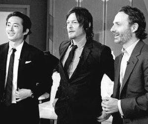 andrew lincoln, norman reedus, and the walking dead image