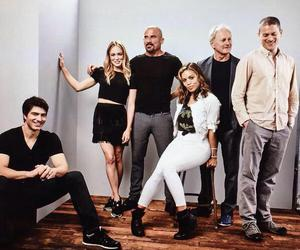 lot, dominic purcell, and caity lotz image