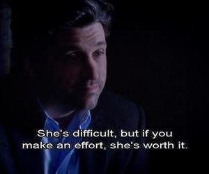 quote, grey's anatomy, and worth image