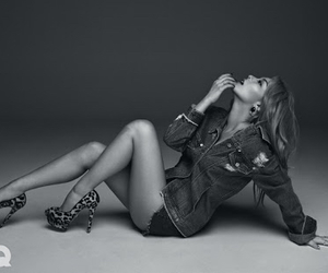 black and white, korean, and ailee image
