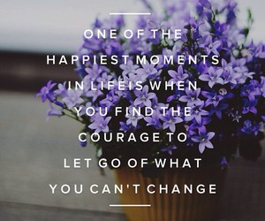 change, happy, and let go image