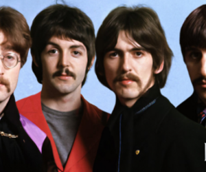 george harrison, the beatles, and Paul McCartney image