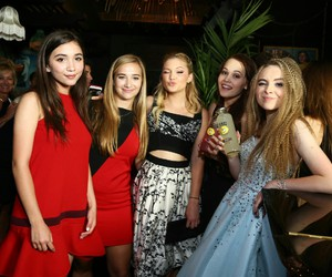 sabrina carpenter, party, and rowan blanchard image