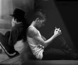 michael jackson and omer bhatti image