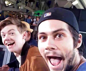 dylan o'brien, thomas sangster, and thomas brodie sangster image