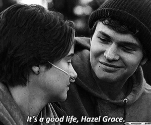 the fault in our stars, love, and hazel grace image