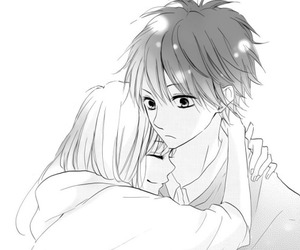 couple, manga, and love image