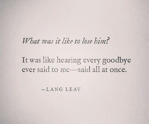 quotes, goodbye, and love image