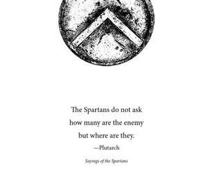 gym, quote, and spartan image